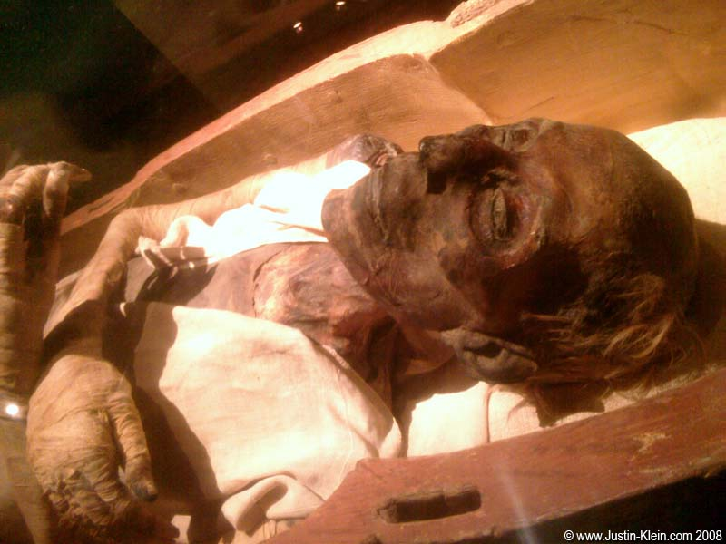 image Mummified in three rolls of duct tape
