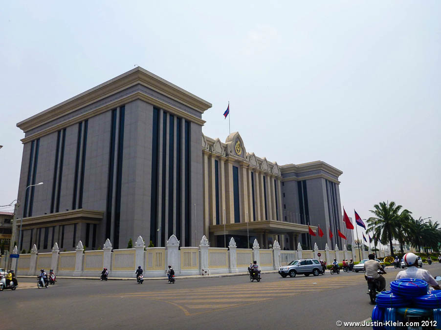 The Cambodian Prime Minister's office.  Comparing this to how 99% of the population lives, clearly he's not the type of leader to share his wealth with the people...